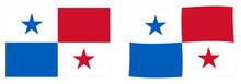 Republic Of Panama Flag. Simpl...