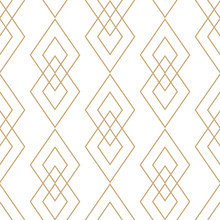 Vector Golden Geometric Textur...