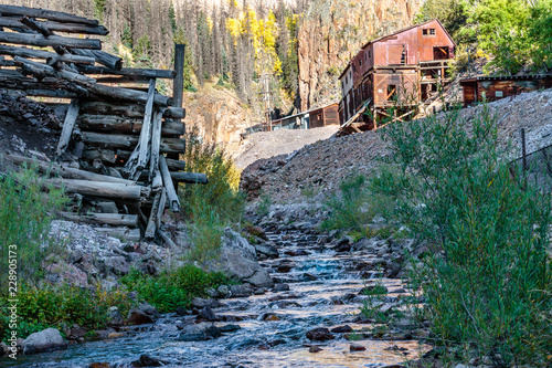 Valokuva  old gold and silver mine in colorado