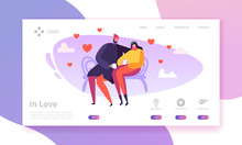 People In Love Landing Page. V...