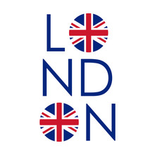 London Typography Design With ...