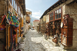 Fototapeta Uliczki - Lahij  - a village with handicrafts traditions in Azerbaijan