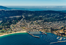 Monterey California Aerial Photo