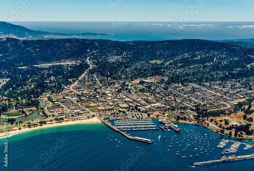 Photo Stands United States Monterey California Aerial Photo