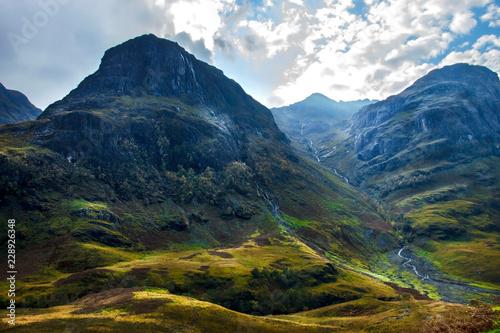 Foto auf Gartenposter Gebirge Glencoe, Scotland, United Kingdom