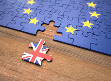 Brexit - United Kingdom European Union Puzzle Pieces