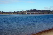 Arched Bridge At Waldport