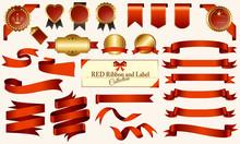 赤いメダル&リボンセ...