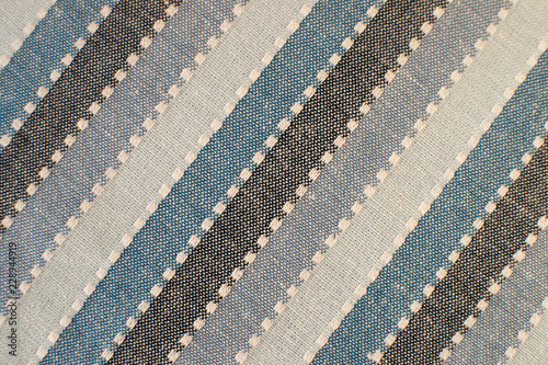 Texture of towel fabric. Fabric for kitchen towels creates a ...
