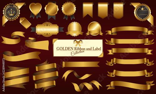 Obraz na plátně ゴールドメダル&リボンセット