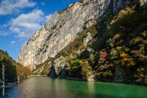 Valokuva  Natural reserve of the Furlo Gorge in the Marche, Italy