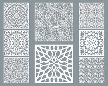 Laser Cut Decorative Panel Set...