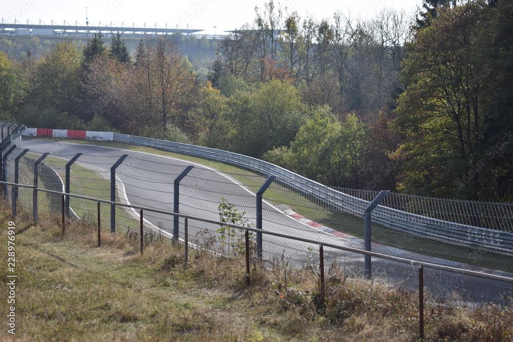 Photo Art Print Nurburgring Nordschleife Hatzenbach 10 18