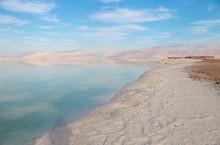 Dead Sea Beautiful Salt Shore....