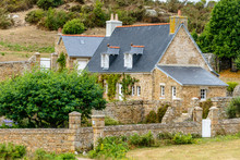 Traditional Rural House In Brittany, France