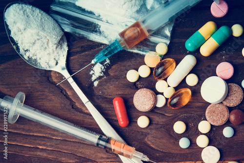 Photo Drug concept