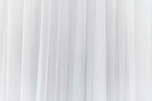 White Curtain Background. Abstract Of Drape Backdrop.