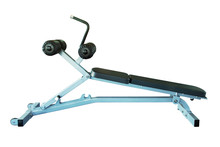 Gym Equipment, Ab Bench Isolat...