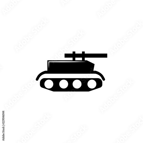 tank, gun icon  Element of military illustration  Signs and