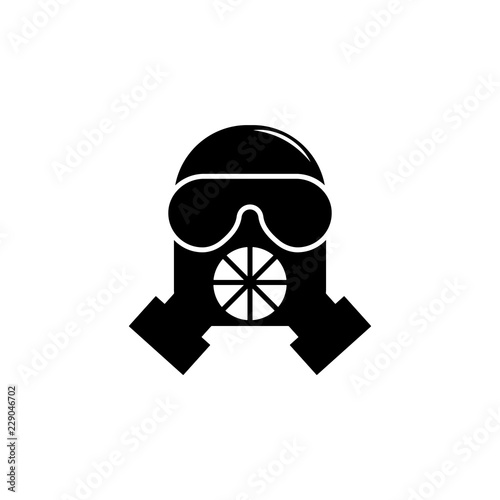 weapon, gas mask icon  Element of military illustration