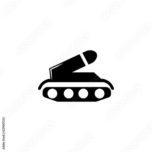 weapons, tank icon  Element of military illustration  Signs