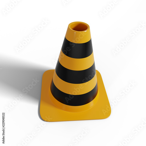 Fotografie, Obraz  Safety Cone