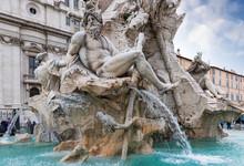 Fontana Dei Quattro Fiumi On P...