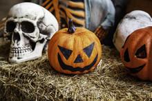 Scary Hallowen Pumpkins