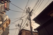 Many Electric Cables