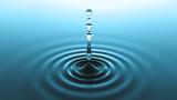 blue water drop