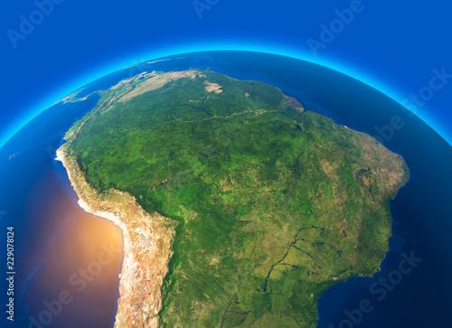 Cartina Geografica Satellitare.Vista Satellitare Dell Amazzonia Cartina Geografica Stati Del Sud America Rilevi E Pianure Cartina Fisica Disboscamento Foresta Acquista Questa Illustrazione Stock Ed Esplora Illustrazioni Simili In Adobe Stock Adobe Stock