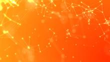 Abstract Orange Plexus Backgro...