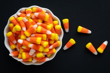 White Bowl Full Of Halloween C...