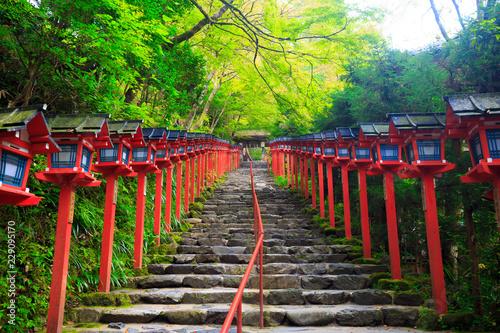 Poster Kyoto 貴船神社の風景