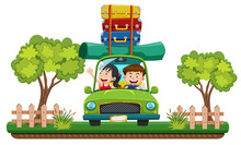 Couple Going On Road Trip