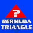 canvas print picture - BERMUDA TRIANGLE concept