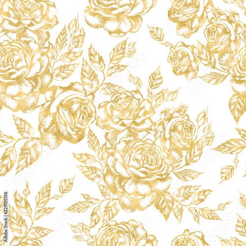 piekny-wzor-graficzny-z-kwiatow-roz-i-lisci