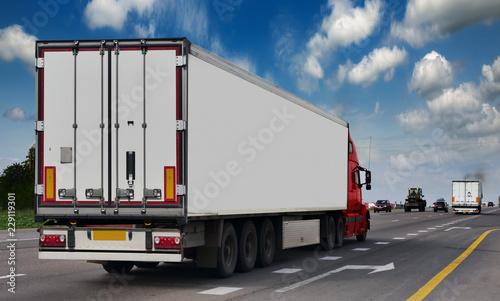Fotografie, Obraz The trailer transpor