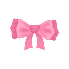 Beautiful Pink Hair Bow. Acces...