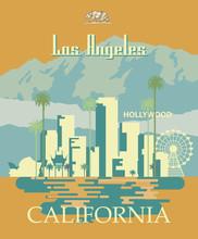 Los Angeles Vector City Templa...
