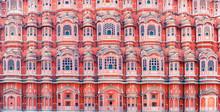 Hawa Mahal Palace (Palace Of The Winds) In Jaipur, Rajasthan, India