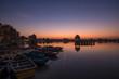 View of beautiful Gadsisar Sagar lake in Jaisalmer India (before sunrise)