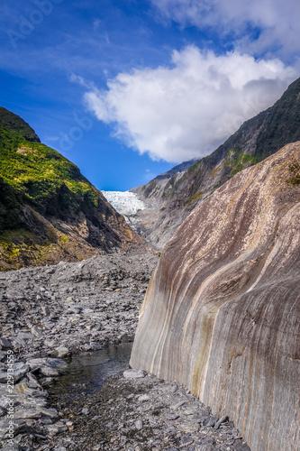 Deurstickers Oceanië Franz Josef glacier, New Zealand