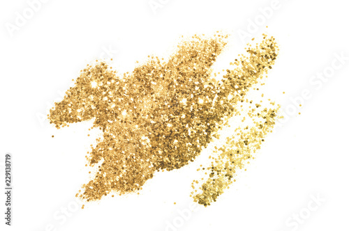 Background with gold glitter for your design Tableau sur Toile