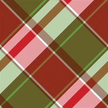 Red Green Abstract Plaid Seamless Pixel Pattern