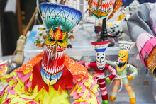 Thai Ghost Puppets With Colorf...