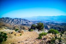 Scenic View Of Ryan Mountain In Joshua Tree National Park, California