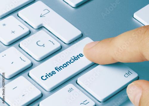 Fotografía  Crise financière