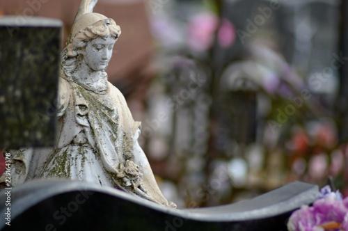 Zdjęcie XXL Cmentarny pomnik w Tucholi