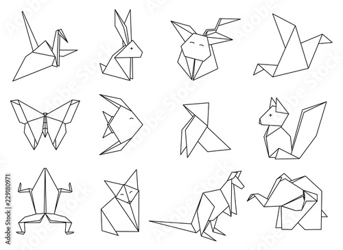 The Complete Book Of Origami Animals | Buku Import Melipat Kertas ... | 364x500